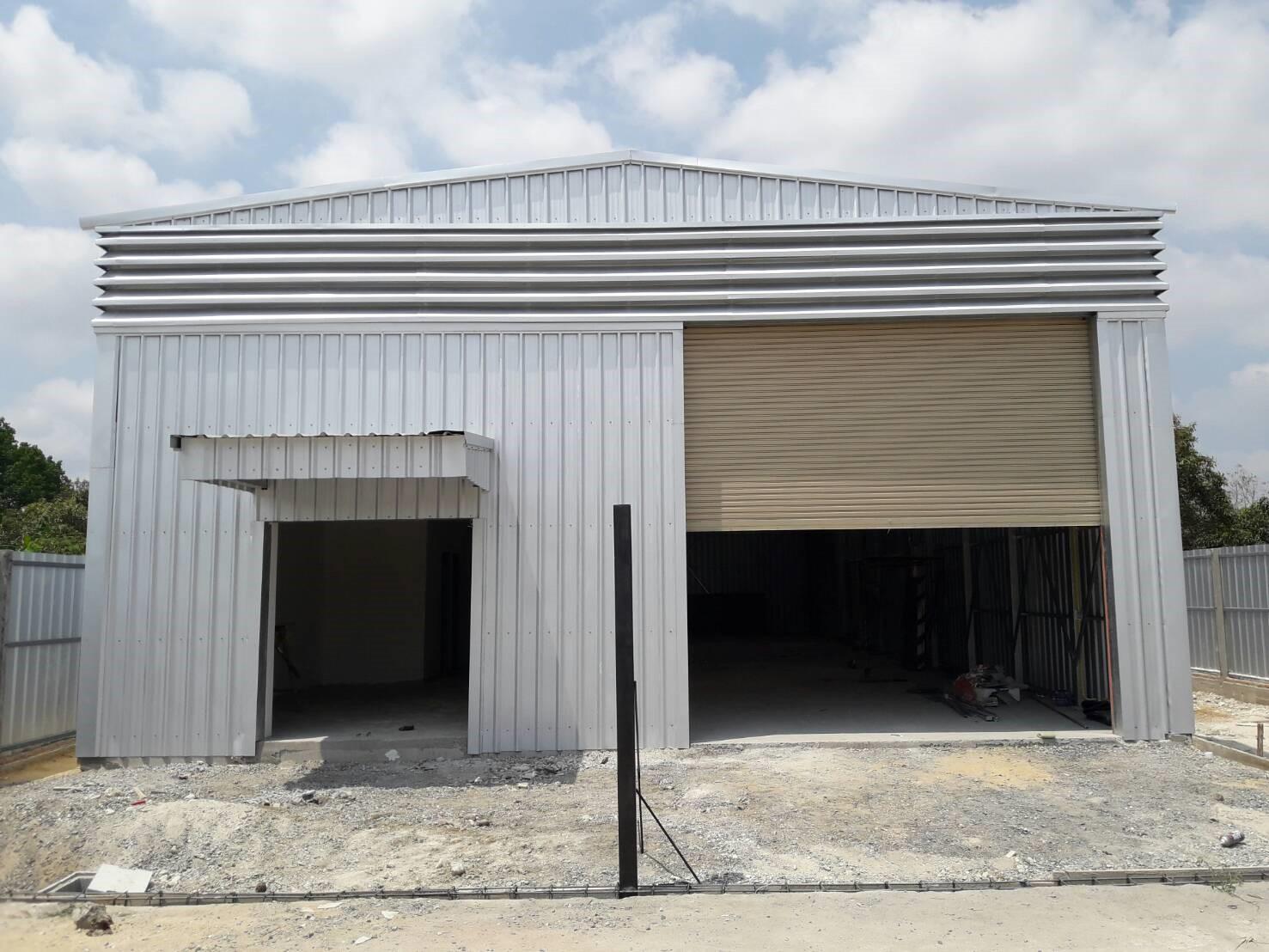 โกดังสำเร็จรูป HW-C ขนาด 10 x 22 x 5 เมตร, รับสร้างโกดัง โรงงาน คลังสินค้า