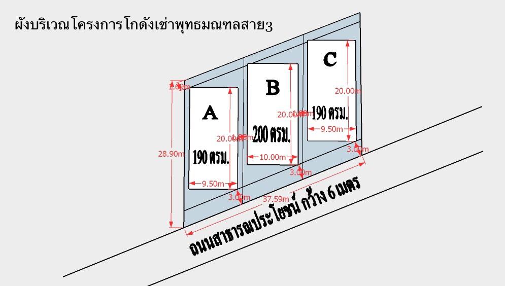 HR14 โกดังสำเร็รูปให้เช่า พุทธมณฑลสาย 3 ซอย 7